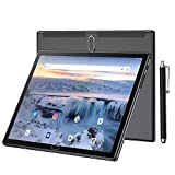 Tablet 10.1 Inch Android 10 Tablet PC IPS HD Display with Quad-Core Processor 2GB RAM 32GB Storage, 2MP+5MP Dual Camer, 5000mAh Battery, Support WiFi, Bluetooth, GPS, USB Type-C Charging (Black)