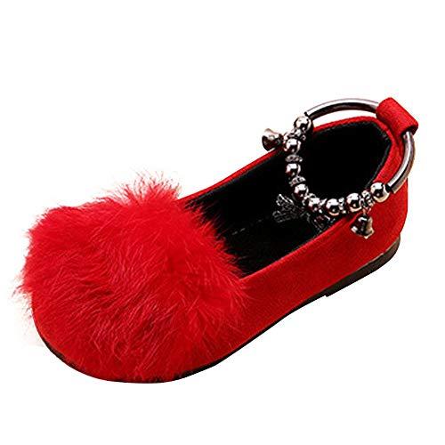 Bailarinas para niña o baile, zapatos elegantes con anillo para el pie, galardonados, zapatos de princesa, tacón antideslizante, sala de baile, niños, verano, serie X Chic Rosa Size: 27 EU