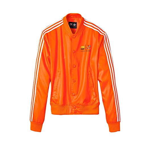 Adidas X, Motiv Pharrell Williams Orange Track Jacket