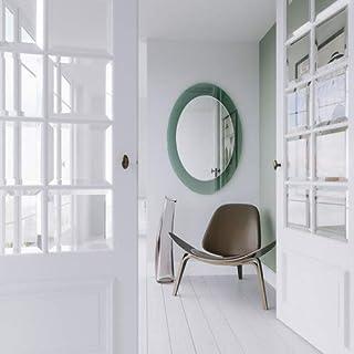 SDG Green Blister Oval Frameless Mirror
