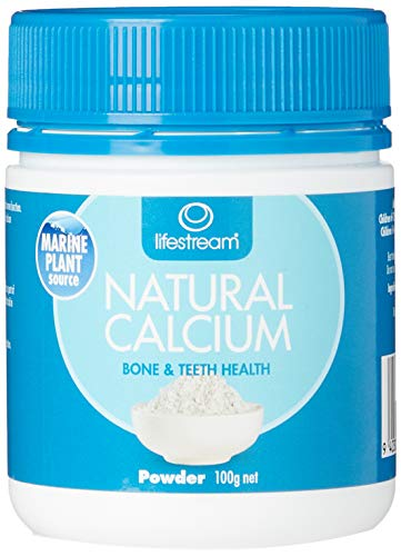 Lifestream Natural Calcium Powder, 100g
