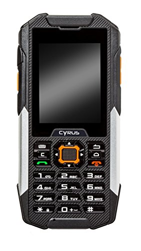Cyrus CYR10031 6,1 cm (2,4 Zoll) Outdoor Hybrid Smartphone CM16 (5MP, Android)