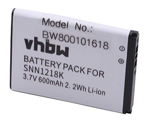 vhbw Li-Ion batteria 550mAh (3.7V) per cellulari e smartphone Motorola Gleam, Gleam EX210, Gleam EX211, Gleam Plus, WX160, WX180, WX260, WX280