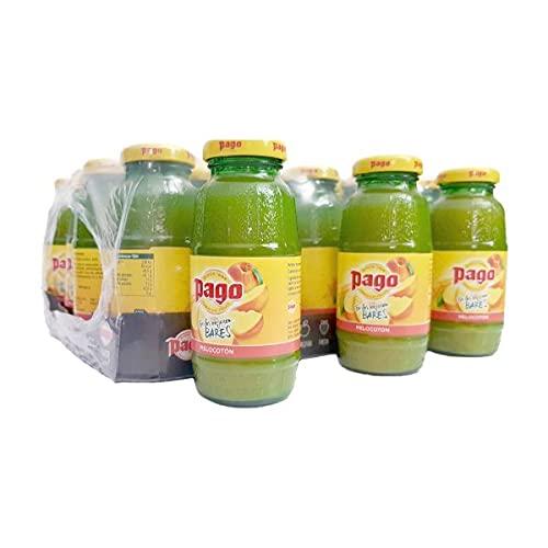 Zumo de Melocoton Pago caja de 24 botellas de 20 cl