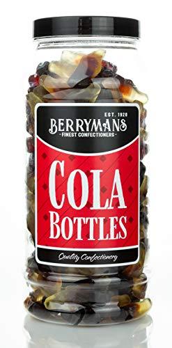 Berrymans Sweet Shop - Tarro de regalo de botellas de Cola Retro Sweets, sabor tradicional