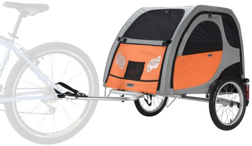 PetEgo Comfort Wagon Dog Bike Trailer WITH SUSPENSIONS- Large - 35'L x 26'W x 24'H