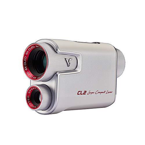 ボイスキャディCL2距離測定器 ホワイト レッド