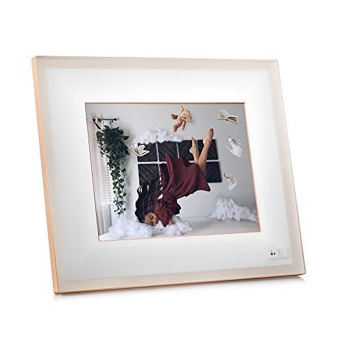 "Our #3 Pick is the Aura Digital Photo Frame, 10"" HD Display"
