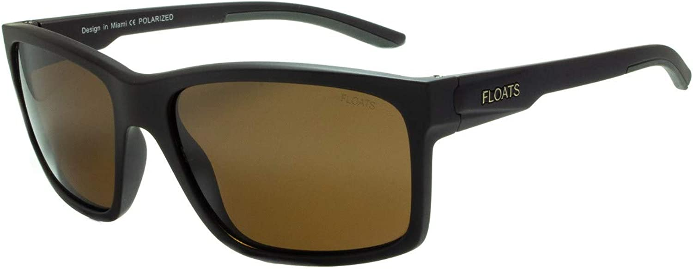 Floats Polarized Sunglasses F4305 Square Unisex Sunglasses Great Fit
