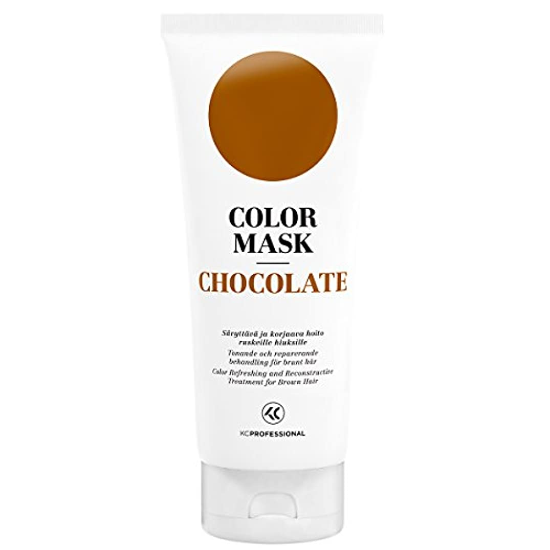KC Professional Chocolate Color Mask Reconstructive Treatment - Toning Conditioner for Brown Hair - 6.76 oz
