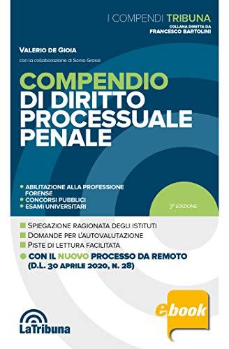 Compendio di diritto processuale penale: Edizione 2020 Collana Compendi