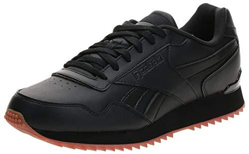 Reebok Royal Glide Ripple Clip, Zapatillas Clasicos Hombre, Negro (Black/Gum), 45 EU