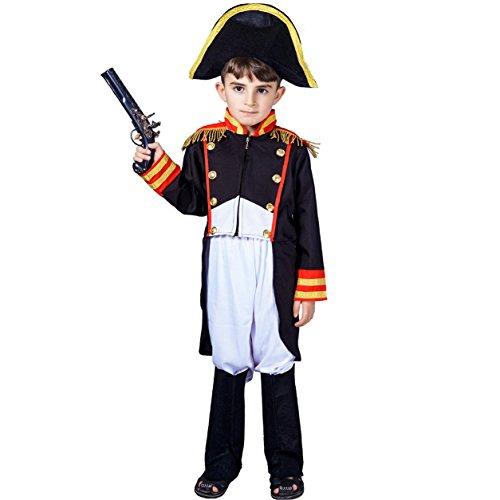 SEA HARE Set de Disfraces de Napoleón niño (7-9 años)
