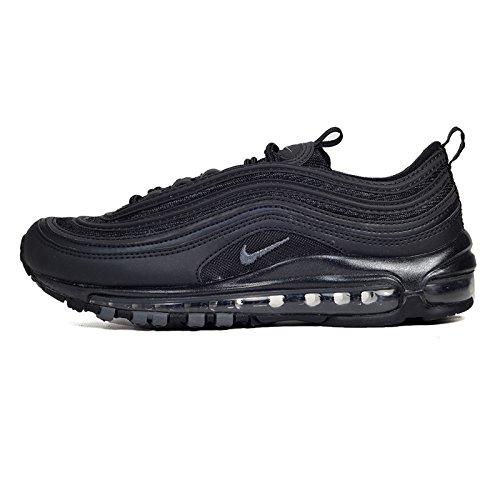 Nike W Air Max 97 Scarpe da Atletica Leggera Donna, Nero Black/Dark Grey 001), 36.5 EU