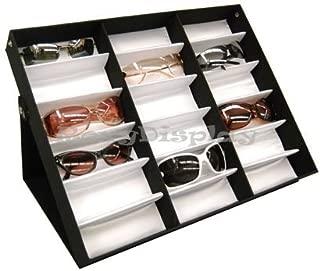 (SU-18A) ROXYDISPLAY™ Sunglasses Display Tray Eyewear Eye wear Display up to 18 glasses