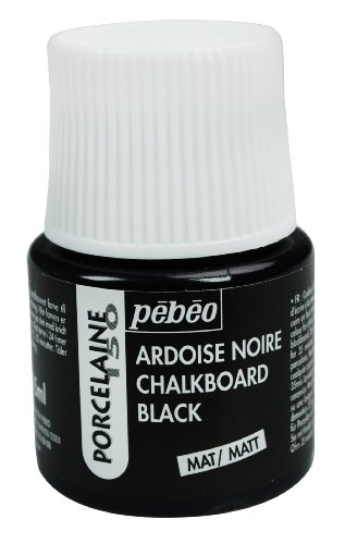 Pebeo - Pintura para Porcelana (45 ml), Color Negro