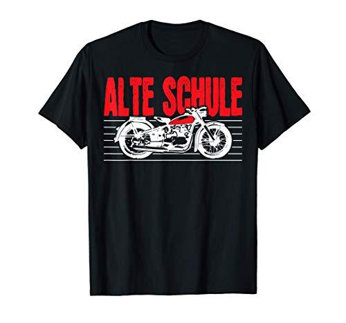 Alte Schule DDR Moped Simson Awo T-Shirt