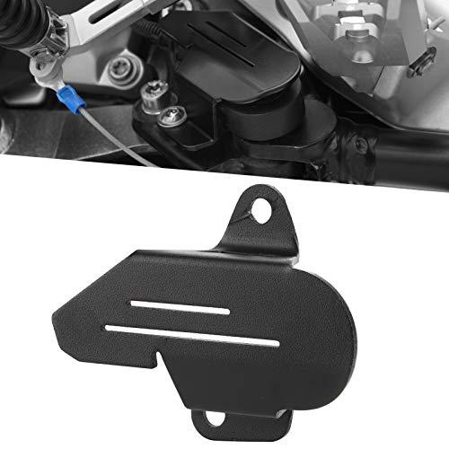Tomantery Protector de Interruptor de Soporte Lateral, Cubierta de Interruptor de Piezas de Motocicleta para Accesorio de Motocicleta F750GS / F850GS / F850GS(Black)