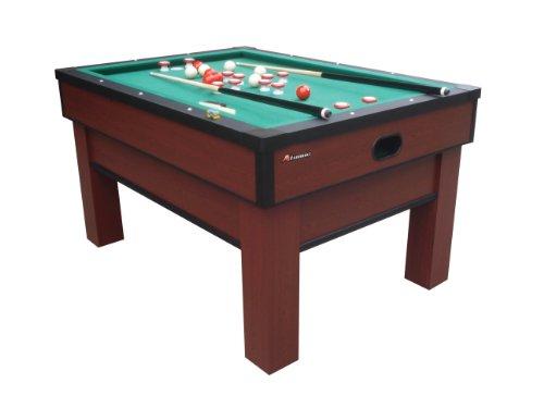 "Atomic Classic Bumper Pool Table Multi-coloured, 5- 7 8"" Top Apron; 7-3 4"" Bottom Apron"