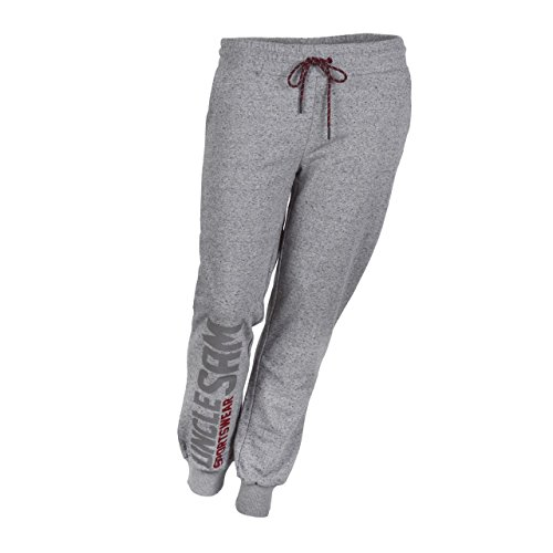 SAM! Dames joggingbroek Bodypants, Grey Melange