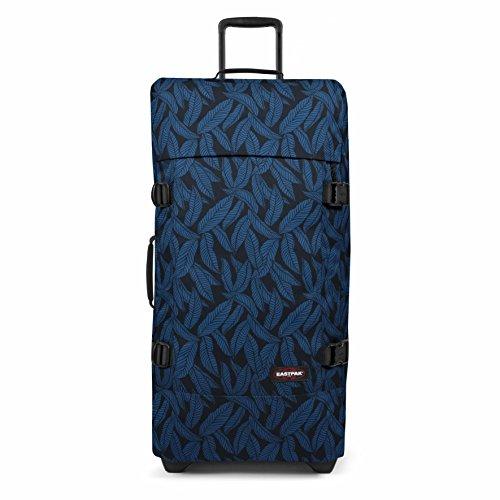 Eastpak Tranverz L Valigia, 79 cm, 121 L, Blu (Leaves Blue)