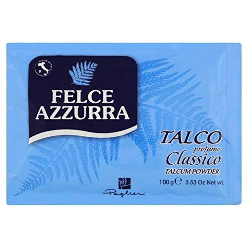 PAGLIERI Felce Azzurra Talco Classico - talc pour le corps - talc - recharge de 100 g