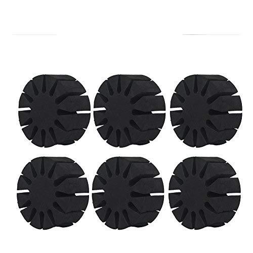 VGEBY1 Separador de Soporte, 6 Unids Set Espuma de EVA portátil Duradera Bastidor Redondo Soporte de Separador de Flecha Tiro con Arco Flechas Carcaj Protección de Esponja Accesorio