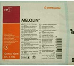 Smith & Nephew Melolin Wound Dressing 10cm x 10cm (Pack Size: Single dressing)
