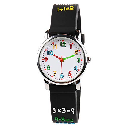 Product Image of the Venhoo Kids Watches 3D Cute Cartoon Waterproof Silicone Children Toddler Wrist...