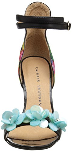 Chinese Laundry Women's Lullaby Floral PR Dress Pump,Black/Multi,6.5 M US