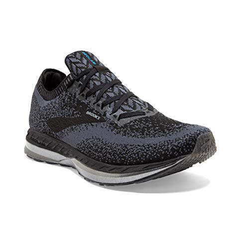 Brooks Mens Bedlam Running Shoe - Black/Ebony/Black - D - 13.0
