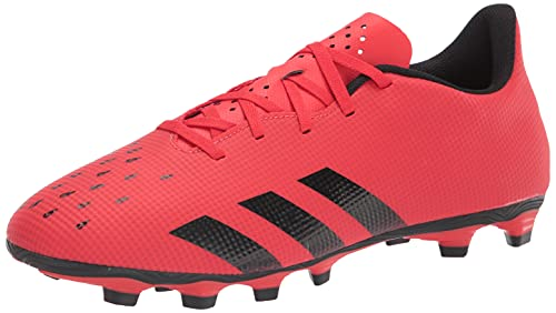 adidas Predator Freak .4 Men's Flexible Ground Soccer Shoe, red/Black/red, Numeric_5_Point_5