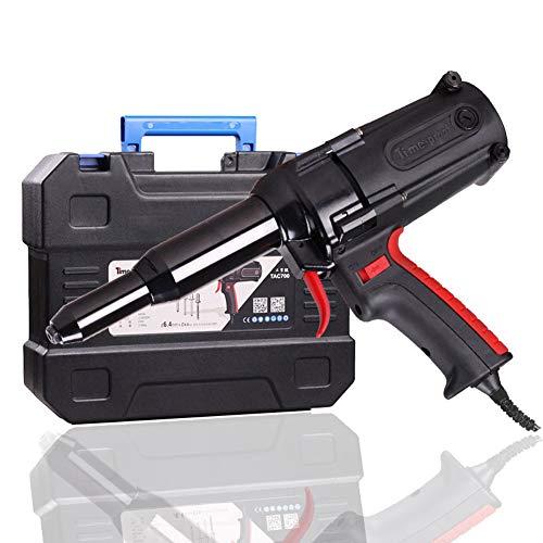 6,4 mm para trabajo pesado eléctrico Remachadora, Herramienta remachadora 220V / 600W...