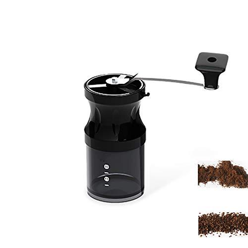 MMJJQWE Mini Manual Ceramic Coffee Grinder,Stainless Steel Adjustable Coffee Mill for Aeropress,...