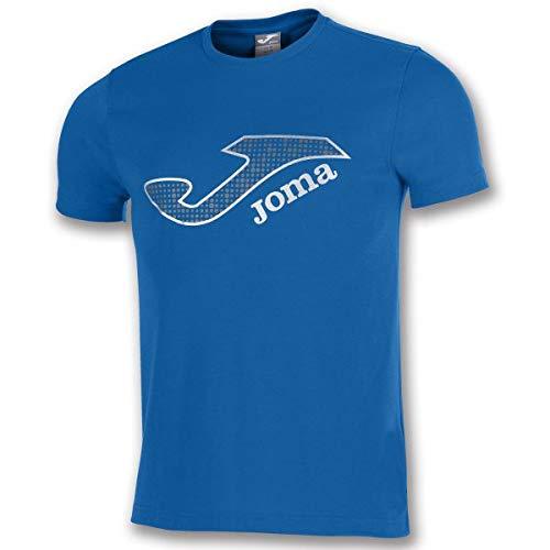 Joma Marsella Camisetas Equip. M/c, Hombre, Royal, S