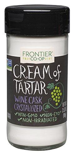 Frontier Cream of Tartar, 3.52-Ounce Bottles (Pack of 3)
