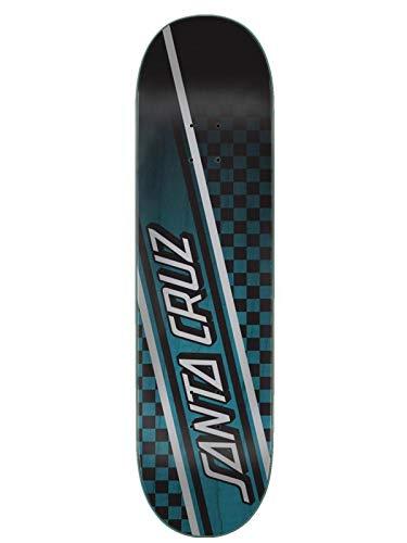 Santa Cruz Tabla Skateboards: Checkstrip Hard Rock Maple 8.25
