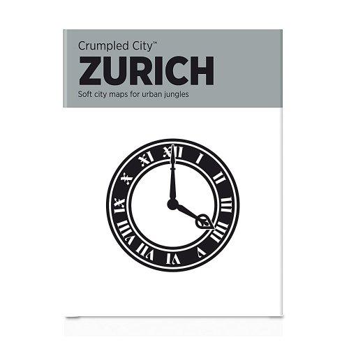 Crumpled City Stadtplan Zurich