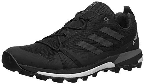 adidas outdoor Men's Terrex Skychaser LT Athletic Shoe, Black/Black/Grey Four, 12.5 D US