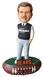 Forever Collectibles Mike Ditka Chicago Bears Baller Special Edition Bobblehead NFL