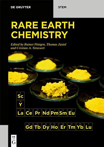Rare Earth Chemistry (De Gruyter STEM) (English Edition)