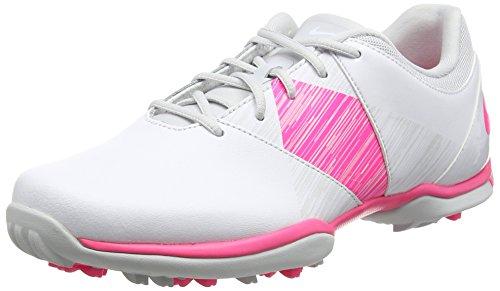 Nike Nike Damen Delight V Golfschuhe Weiß (White/Hyper Pink/Pure Platinum) 37.5 EU