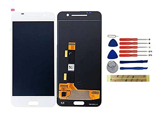 Yixi Pantalla para HTC One A9 Pantall LCD Pantalla Táctil Blanco Repuesto de Pantalla Recambio (sin Marco)