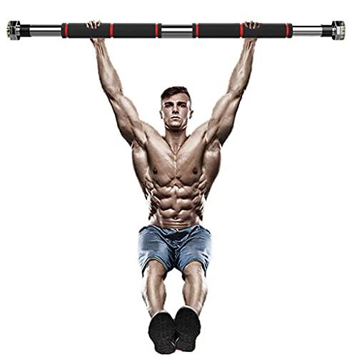 YQ&TL Klimmzugstange Horizontale Linie SportPush-Up Fitness Bar 8-Ecken rutschfest Verstärkte Schnalle Indoor-Fitnessgeräte Laden Sie 440lbs 60-100cm