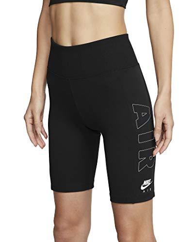 Nike Air Bike - Mallas cortas para mujer, Todo el año, Mujer, color negro, tamaño XS