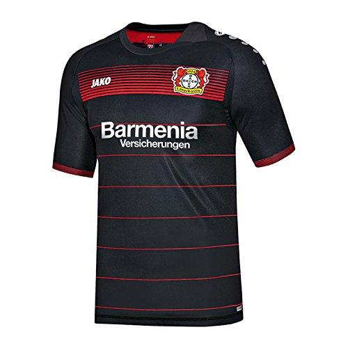 Jako Herren Bayer 04 Leverkusen Home Trikot 2016/17 BA4216H Schwarz-Rot XXXL