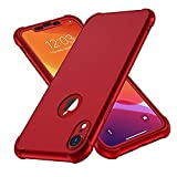 ORETECH Compatible With iPhone XR Case, with[2xTempered