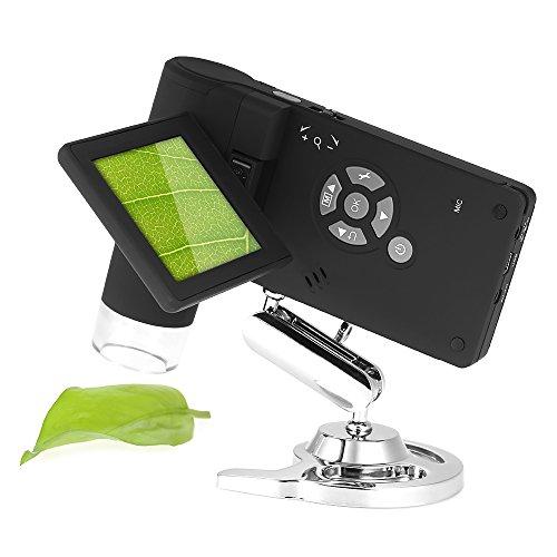 """KKmoon Professionista Mobile Palmare 3\"""" LCD Portatile Microscopio Digitale 5M 10-500X Fino a 1200x Per Digital Ingrandimento Foto e Video Capture"""
