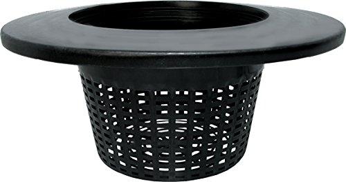 Hydrofarm HG8RDBK Lid (Case of 25), 8' Wide Lip Bucket Basket, 8'