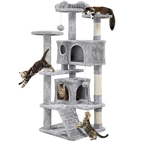 Yaheetech Árbol para Gatos Rascador con Plataforma Escalado